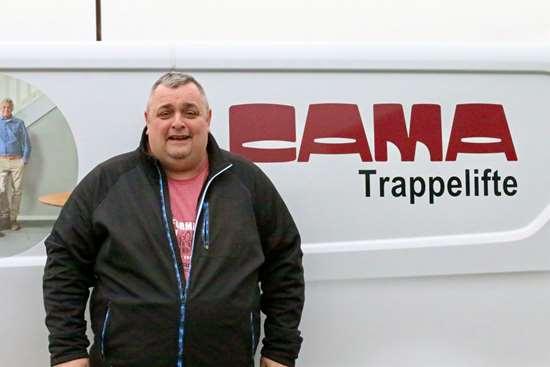Ny salgskonsulent i CAMA
